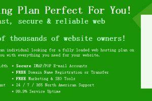 GreenGeeks美国老牌绿色全能无限主机+免费域名介绍及返佣